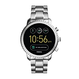 Reloj inteligente para hombre Fossil Q Explorist 3ª generación – Acero inoxidable – Impresionante reloj inteligente con… 4
