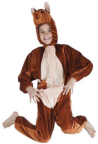 narrenkiste B88024-140 Känguru Kostüm Kinder Gr.bis max. 140 cm Körpergröße