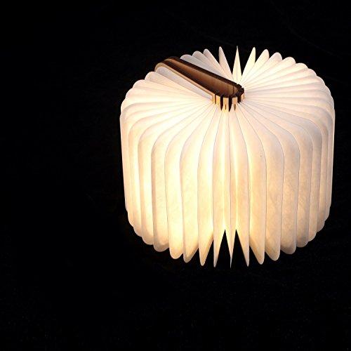 Große LED Buchlampe in Buch Form mit Akku - 2