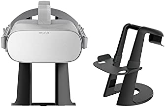 Esimen VR Headset Stand - 3D Glasses Headset Display Stand for Oculus Go & Oculus Rift , SONY PlayStation PS VR, Oculus Ri...