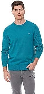Timberland Crew Sweatshirts For Men - Harbor Blue , Medium