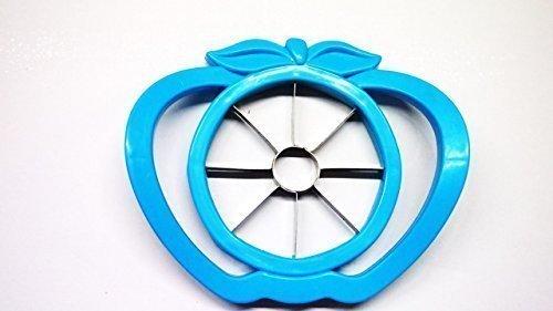 Patisserie Apfelteiler, Edelstahl mit Kunststoffrahmen Birnenteiler Gourmet (blau)