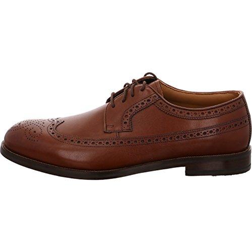 Clarks Vestir Hombre Zapatos Coling Limit En Piel Marrón Tamaño 41½