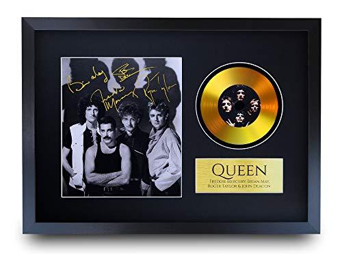 HWC Trading A3 FR Queen Freddie Mercury Brian May Gifts -