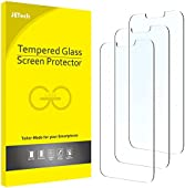 JETech Screen Protector Compatible with iPhone 13 and iPhone 13 Pro 6.1-Inch, Tempered Glass Film, 3-Pack