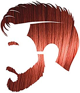 Manly Guy DARK RED Hair, Beard, & Mustache Color: 100% Natural & Chemical Free