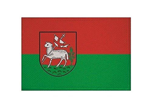 U24 Aufnäher Ochtrup Fahne Flagge Aufbügler Patch 9 x 6 cm