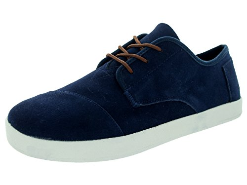 Toms Mens Shoes Paseo Suede Sneaker 9 M Navy