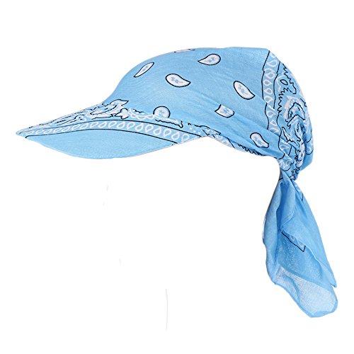 JUTOO Visier-Hut-Sonnenhut der Mode-Frauen Gedruckter Kopftuch halten warme Kappe Topee