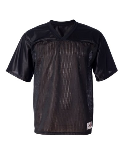 Augusta Sportswear Augusta Stadium Replica Jersey, Black, X-Large