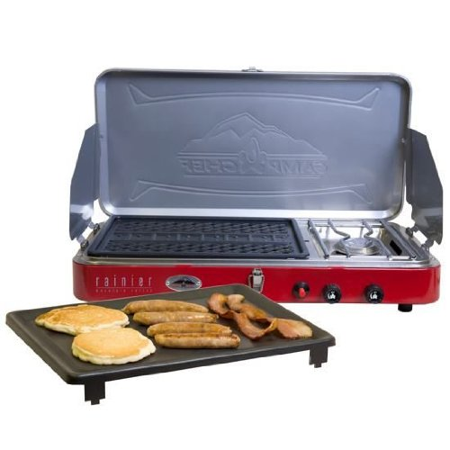 Camp Chef Rainier Campers Combo - Stove/Grill/Griddle