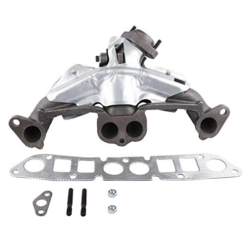 MOSTPLUS 674-225 Exhaust Manifold Catalytic Converter w/Gasket Compatible for Jeep Cherokee Wrangler Comanche CJ7 Dodge Dakota 2.5L 4CYL