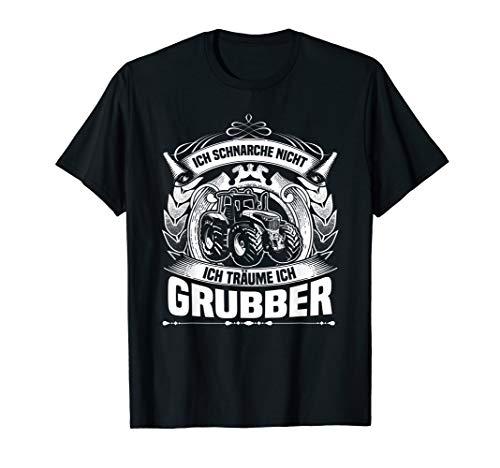 Grubber Kleintraktor für Schlepperfahrer T-Shirt