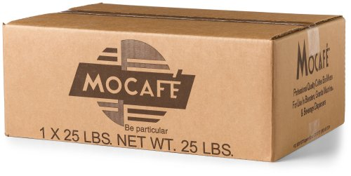 MOCAFE Azteca D'oro 1519 Mexican Spiced Ground Chocolate, 25-Pound Box Instant Frappe Mix, Coffee House Style Blended Drink Used in Coffee Shops