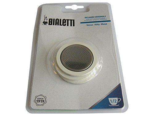 Bialetti Industrie Spa-Div.Caffett. Guarn.+Filtro GB TZ. 1-2