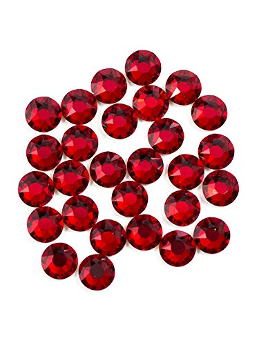 Swarovski - Create Your Style Flat Back Crystals, red
