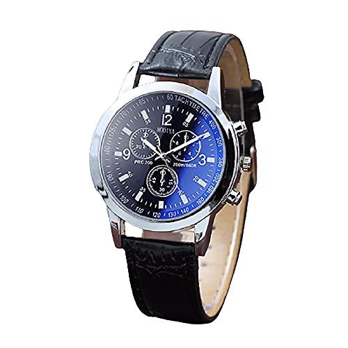 SXLONG Quartz Blue Glass Chronograph Belt Mens Watch Gift Stall Pointer Type