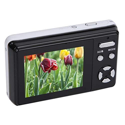 【Venta del día de la Madre】 AMONIDA Cámara Digital con Zoom, cámara Digital con Tarjeta, cámara Digital con Pantalla LCD y micrófono USB para el hogar