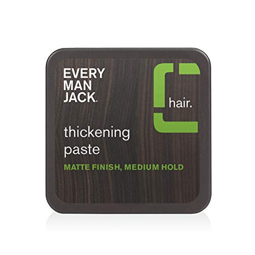 Every Man Jack Thickening Paste | 2.65-ounce | Naturally Derived, Parabens-free, Pthalate-free, Dye-free, and Certified Cruelty Free