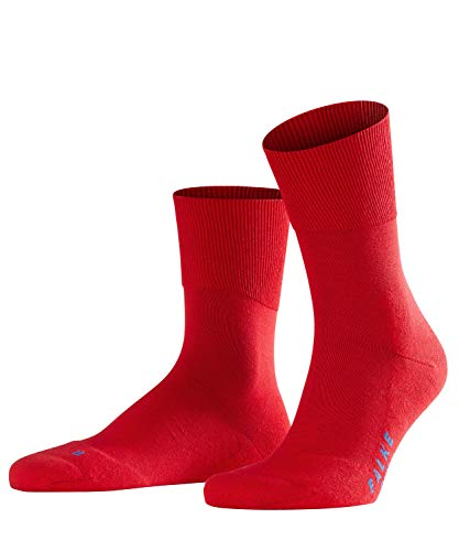 FALKE Run U SO-16605 Chaussettes, Opaque, Rouge (Fire 8150), 37-38 : EU Mixte Adulte