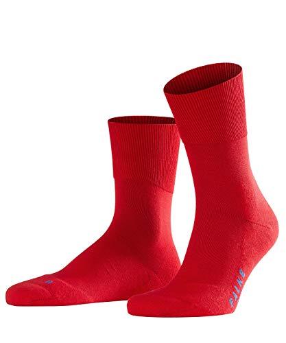 FALKE Unisex Socken Run - Baumwollmischung, 1 Paar,Rot (Fire 8150), 44-45 (UK 9.5-10.5 Ι US 10.5-11.5)