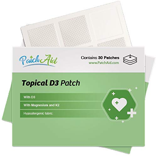 D3 Topical Patch by PatchAid (3-Month Supply)