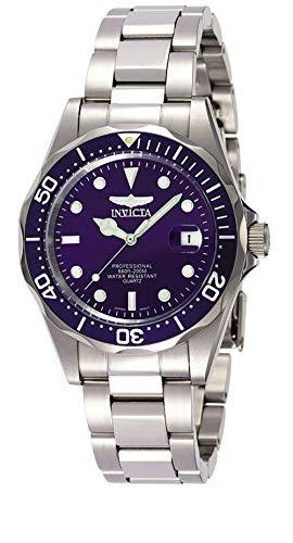 Invicta 9204 Pro Diver Unisex Uhr Edelstahl Quarz blauen Zifferblat
