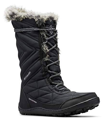 Columbia Women's Minx III Mid Calf Boot, black, ti grey steel, 9 Regular US