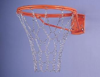 Metall Basketballnetz,verzinktes Metallnetz Ketten Netz (Lieferung aus D)