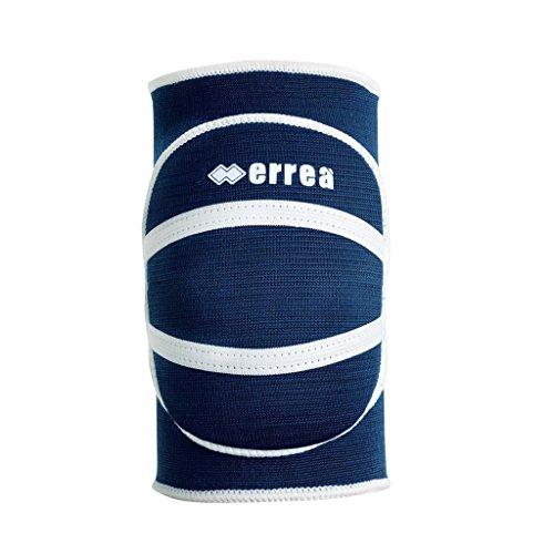 ATENA Knieschoner · UNISEX Knieschutz für Kinder & Jugendliche · ERREÀ Volleyball & Turnen · UNIVERSAL Training & Wettkampf Größe XS, Farbe marineblau-weiß