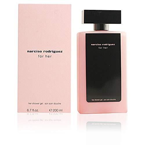 Narcisso Rodriguez femme / woman, Duschgel 200 ml, 1er Pack (1 x 200 ml)