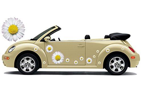Autoaufkleber, Flower Power, Hippie Blumen, Flower Set 06 (8)