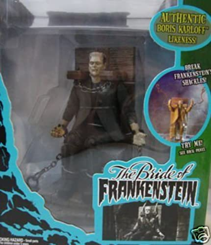 ventas calientes Universal Monsters The Bride of of of Frankenstein Playset with Frankenstein figure  by Universal Monsters  muchas sorpresas
