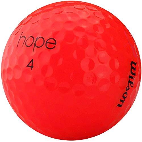 lbc-sports Wilson Hope Golfbälle - AAAAA - PremiumSelection - Pink/Hot Pink - Lakeballs - gebrauchte Golfbälle (100 Bälle)