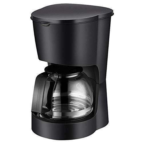 T-C Bean Cup Filterkaffeemaschine Kaffeevollautomat Drip Kaffeekanne mit 600ml Glaswassertank, Temperiergeräte Isolierung Funktion, automatischer Heizungs-Funktion, 600W 600ml, 590W warme Funktion