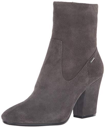 Kenneth Cole New York Women's Merrick Goretex Waterproof Heeled Ankle Bootie Boot, Asphault, 9 M US