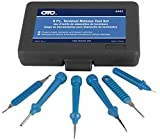 OTC 4461 6-Piece Automotive Terminal Release Tool Set with Case