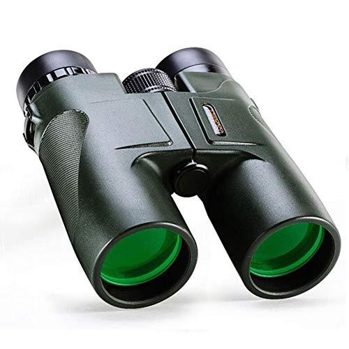 10x42 Prismáticos Niños Adultos Telescopio Portátil de Observación de Aves con Bolsa HD de Gran Alcance para la Caza de Senderismo al Aire Libre
