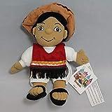 Disney Bean Bag Plush It's a Small World Mexico Boy by Disney