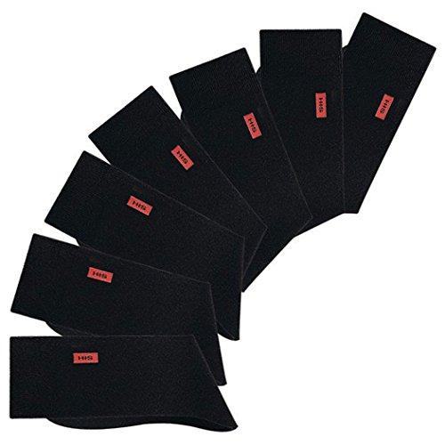 H.I.S HIS, 7 Paar Herren Socken für Freizeit und Business, (43/46, 7 x schwarz)