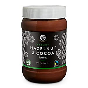 Marca Amazon - Happy Belly Select - Crema de cacao y avellanas ecológica, 800g