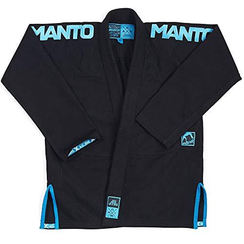 MANTO BJJ GI, X3-2018, schwarz-blau GI-Größe A3
