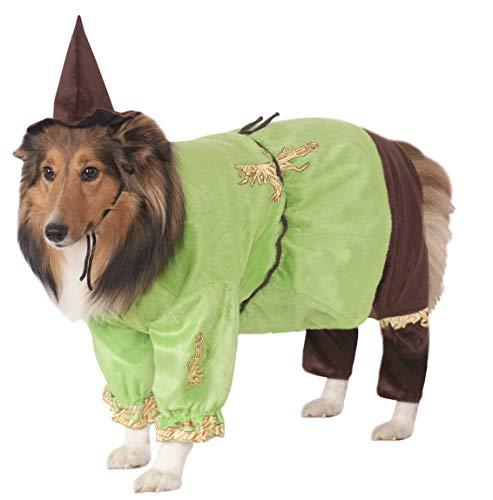 Disfraz de Mago de Oz, tamaño Mediano, espantapájaros