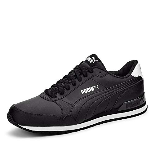 Puma Herren ST Runner v2 Full L Sneaker, Schwarz Black Black 02, 43 EU