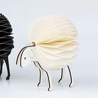 北欧 NORDAL ノルダル ひつじのオブジェ 置物 Fluffy sheep Ornament White