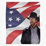 Walker Meme Chuck Norris Ranger Funny Texas Wall Decor Art Print Poster