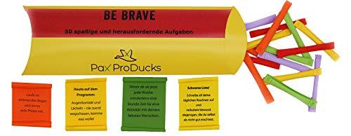 Pax ProDucks - Be Brave 50 kraftvolle und spaßige Abenteuer ☀️ | ❤ Geschenk - für Abenteurer, Herzensmenschen und Leute, die Inspiration suchen