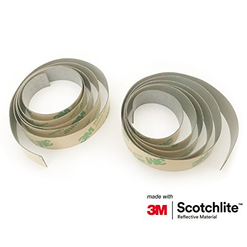 Salzmann 3M Reflektorband - Zuschneidbares Warnklebeband - Hergestellt mit 3M Reflektierendem Material
