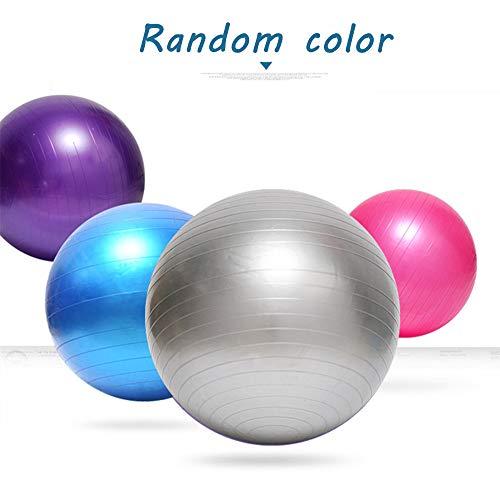 SmartRing Fitnessball mit Pumpe, Durchmesser 65 cm, zufällige Farben, Yoga, Pilates, Fitnessstudio zu Hause