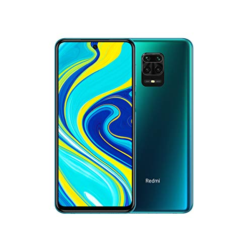 "Xiaomi Redmi Note 9S 6GB 128GB Quad camera AI 48MP 6.67 ""FHD + 5020mAh Type 18W rapid charging Aurora Blue"